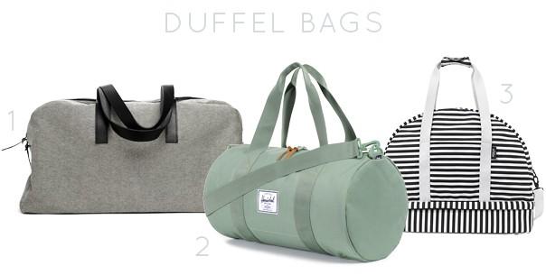 Essential Travel Bags // Feast + West