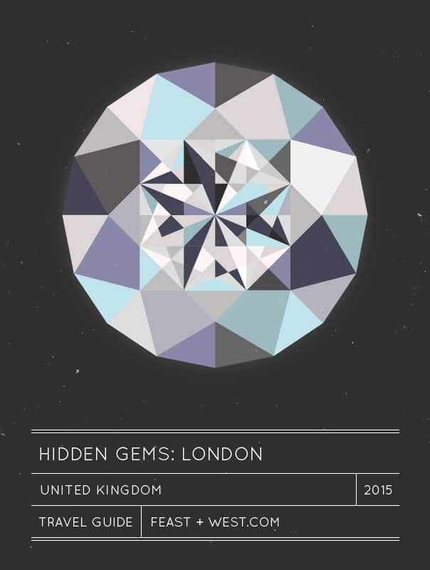 Hidden Gems: London, England travel guide // feastandwest.com