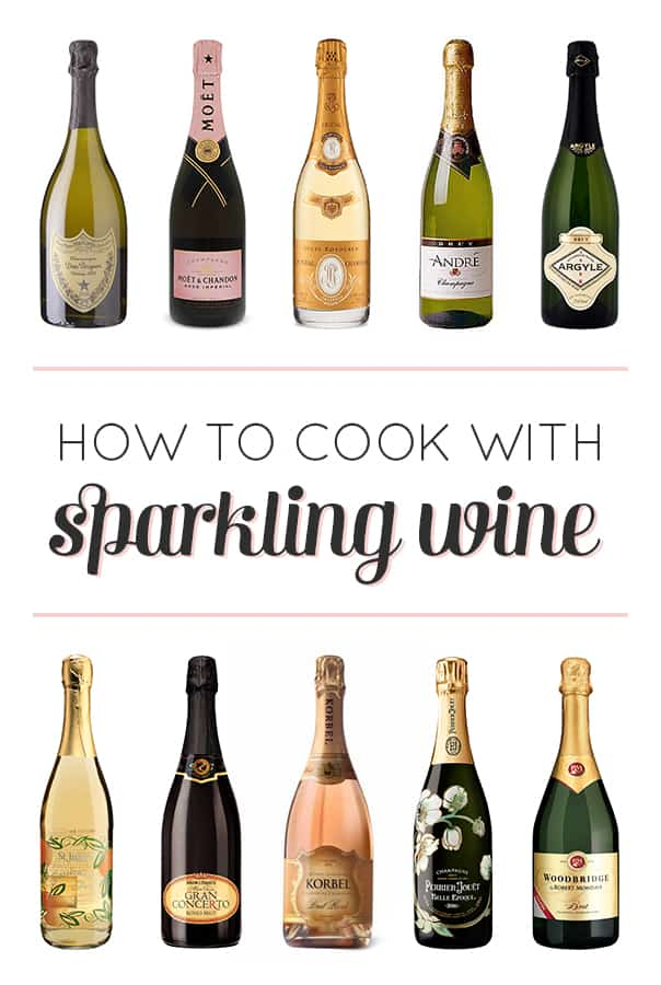 How to Cook with Champagne and Sparkling WIne // feastandwest.com
