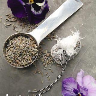 Homemade Lavender Sugar