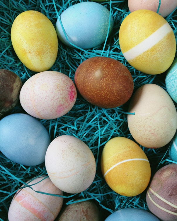 Natural Egg Dyes // Feast + West