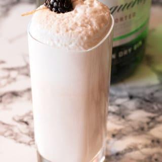 Blackberry Ramos Gin Fizz