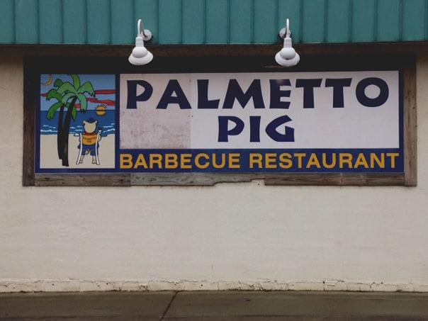The Palmetto Pig