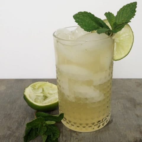 Gin-Gin Mule —A fresh-tasting gin and ginger cocktail with mint // Feast + West