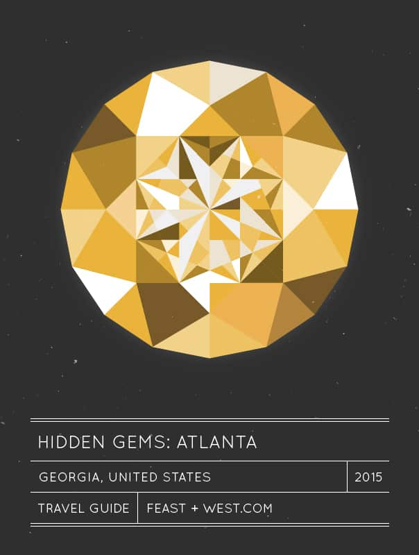 Hidden Gems: Atlanta travel guide // feastandwest.com