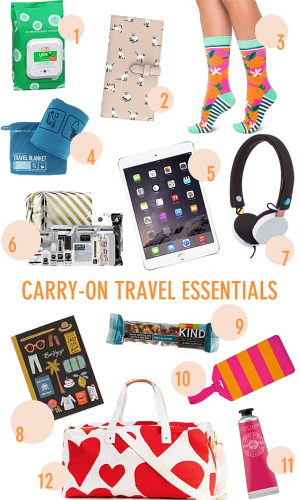 Carry-on Travel Essentials // Feast + West