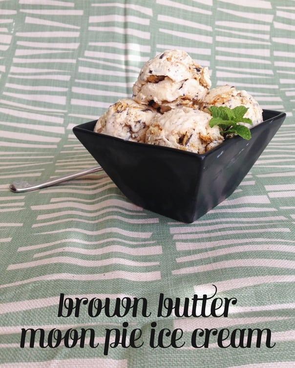 Brown Butter Moon Pie Ice Cream // Feast + West