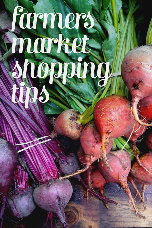 Farmers Market Shopping Tips // Feast + West