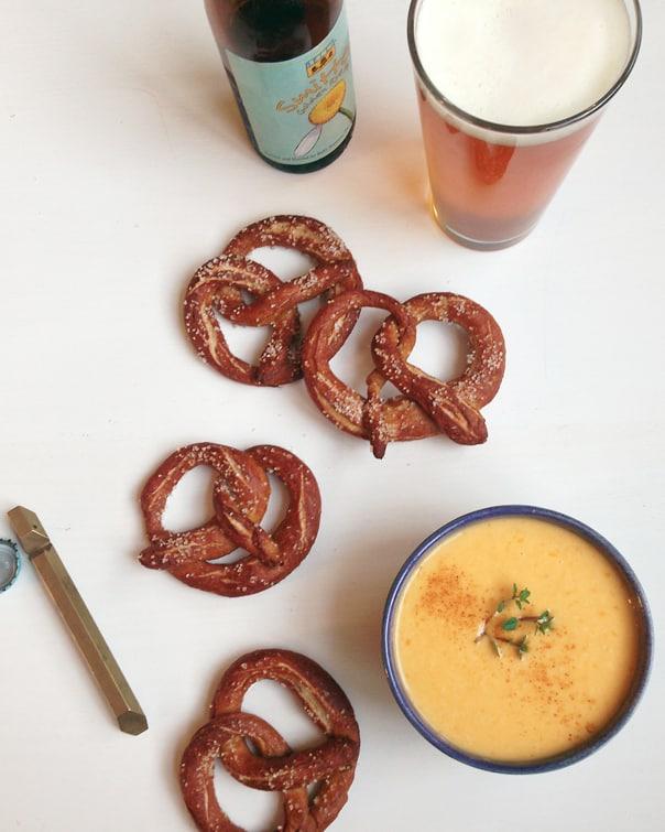 German Pretzels + Beer Cheese Dip // Feast + West
