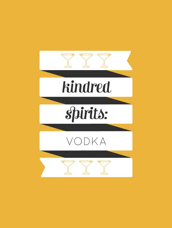 Kindred Spirits: A guide to vodka