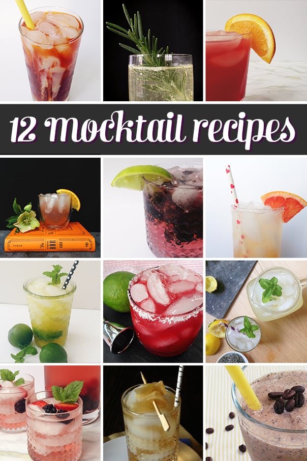 Mocktail Recipes, Part II // Feast + West