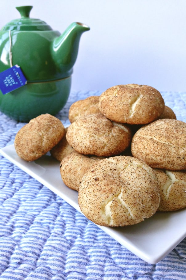 Cardamom Black Pepper Snickerdoodles // Feast + West