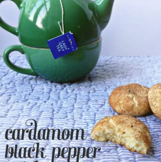 Cardamom Black Pepper Snickerdoodles