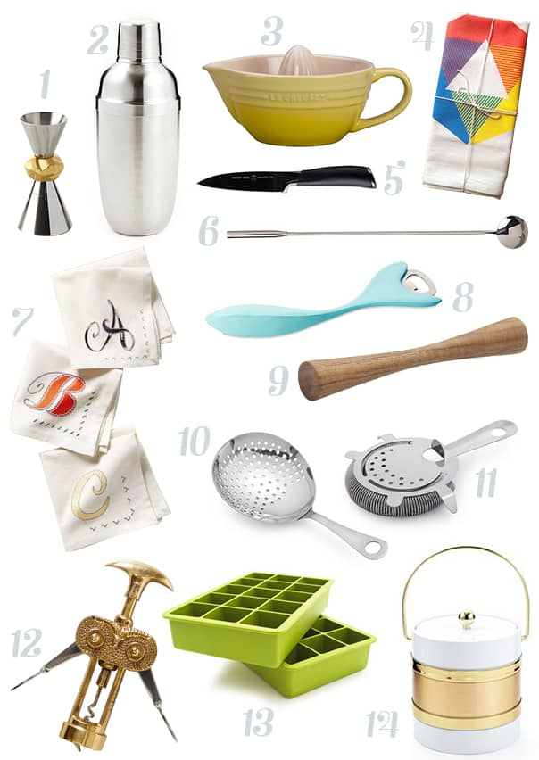 Cocktail Essentials Gift Guide // Feast + West