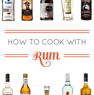 How to Cook with Rum