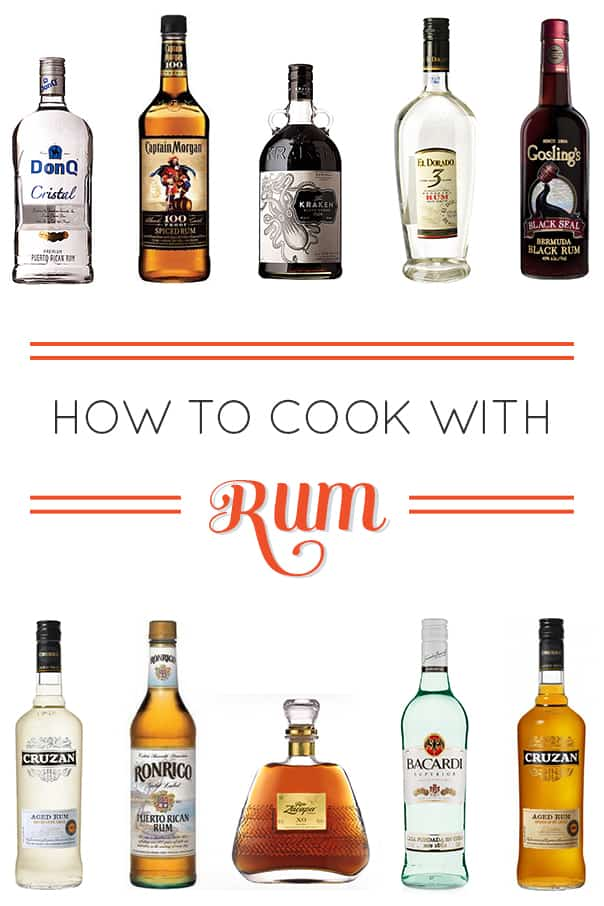 How to Cook with Rum, a comprehensive guide // feastandwest.com