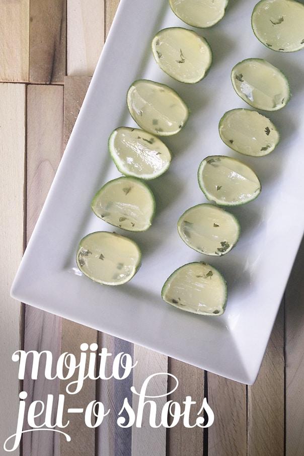 Mojito Jell-O Shots // Feast + West