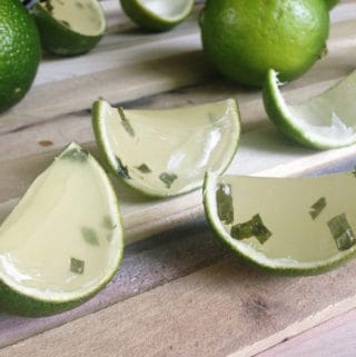 Mojito Jell-O Shots // Feast + West