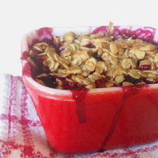 Gluten-Free Mini Berry Cobblers // Feast + West
