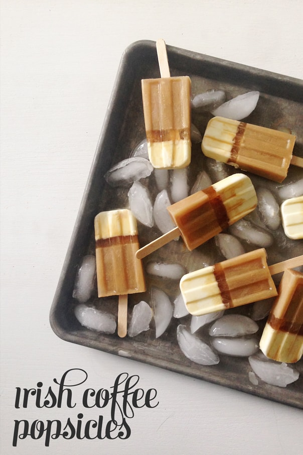 Irish Coffee Layered Popsicles // Feast + West