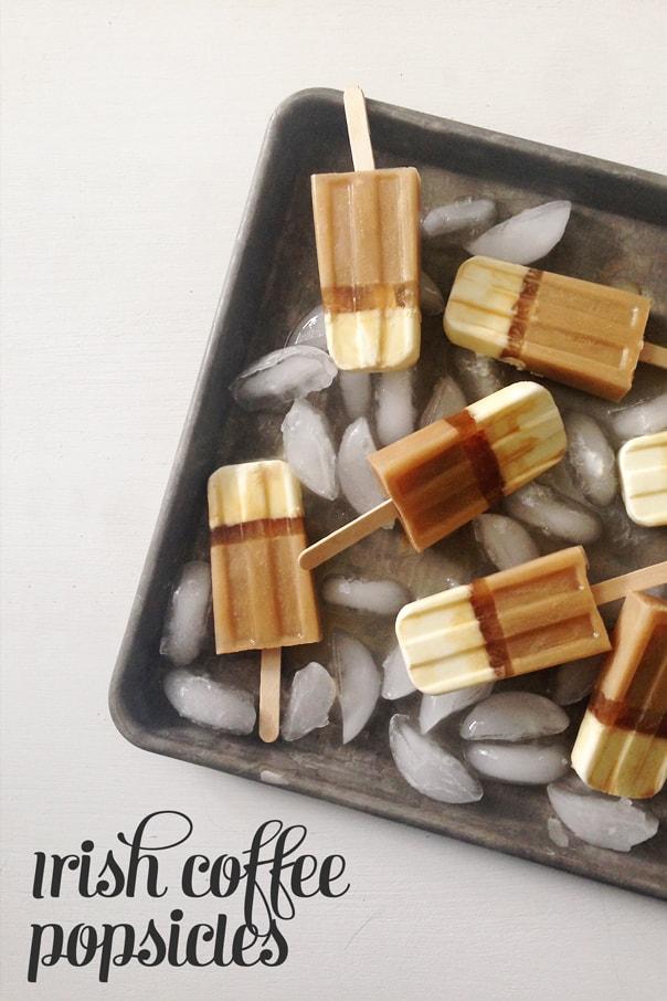 Irish Coffee Layered Popsicles // Feast + West