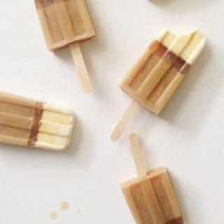 Irish Coffee Popsicles