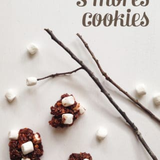 No Bake S'mores Cookies // Feast + West