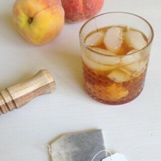 Peach Tea Old-Fashioned
