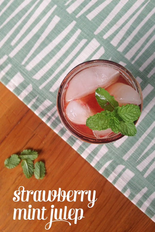 Strawberry Mint Julep // Feast + West