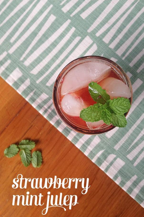 Strawberry Mint Julep // Feast + West