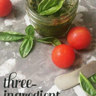 3-Ingredient Pesto