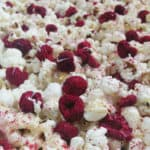 White Chocolate Raspberry Cheesecake Popcorn + Giveaway