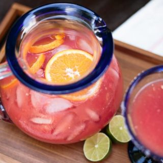Summer Supper + Watermelon Orange Margarita Punch