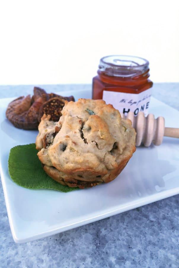 Fig, Onion + Honey Muffins // Feast + West