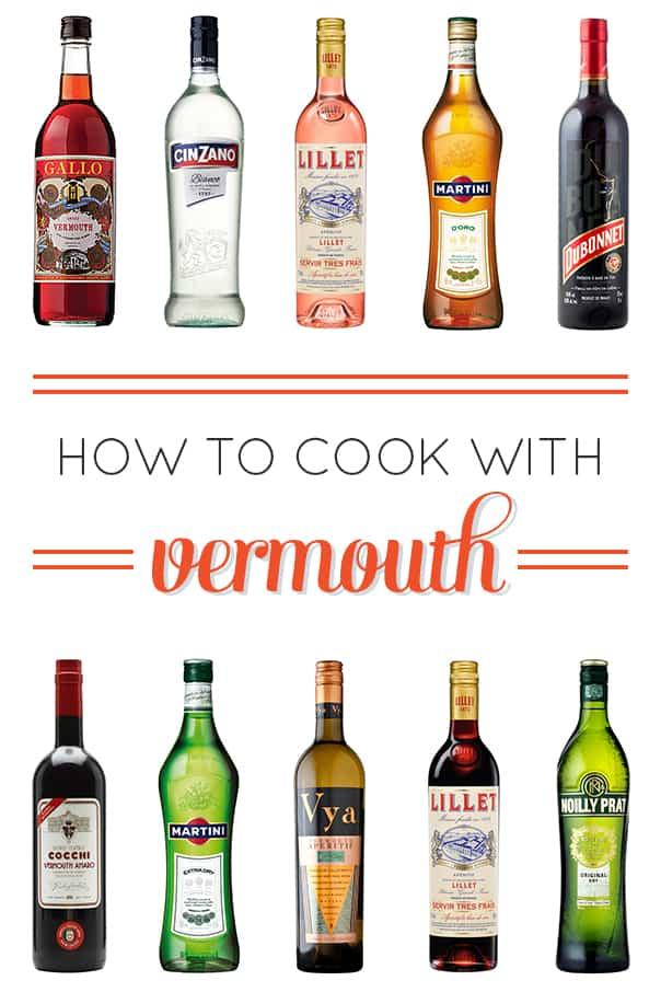 How to Cook with Vermouth, a comprehensive guide // feastandwest.com