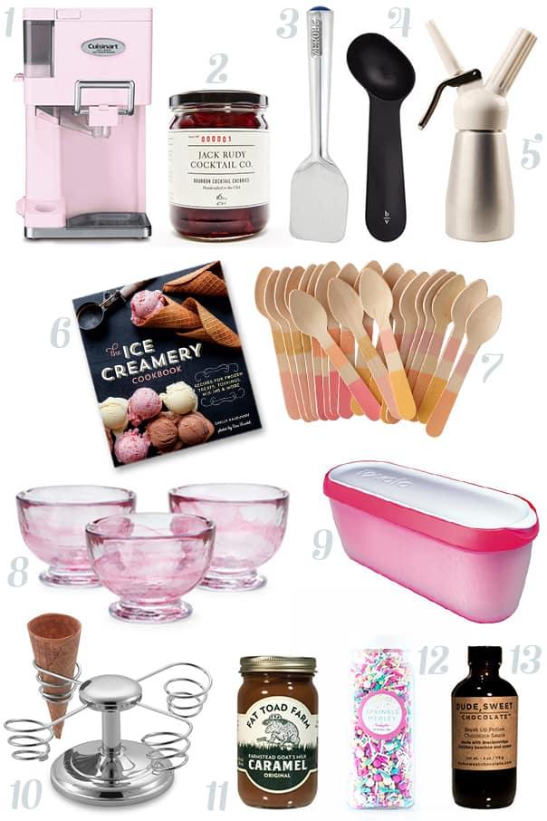 Ice Cream Lover Essentials // Feast + West