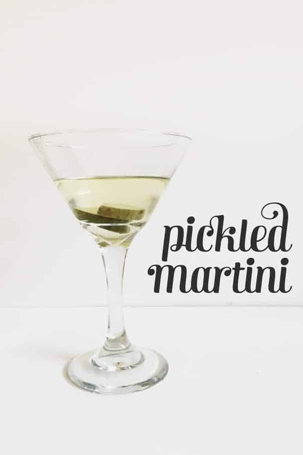 Pickled Martini // Feast + West