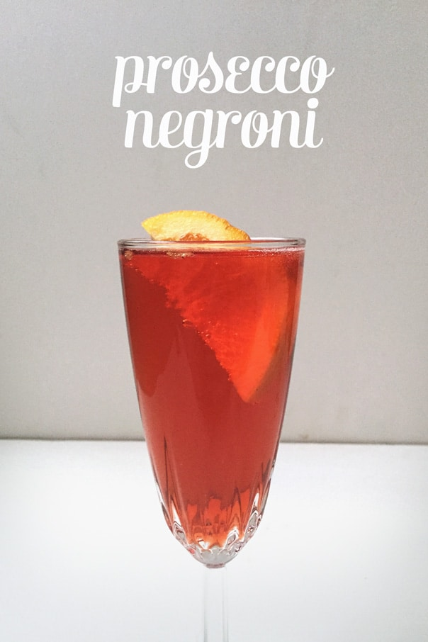 Prosecco Negroni // Feast + West