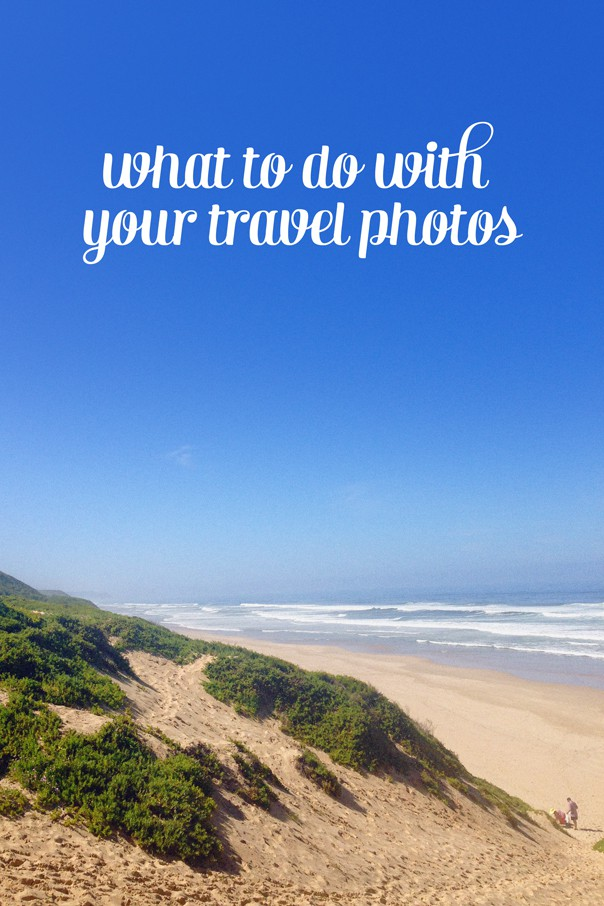 What to do with your travel photos // Feast + West