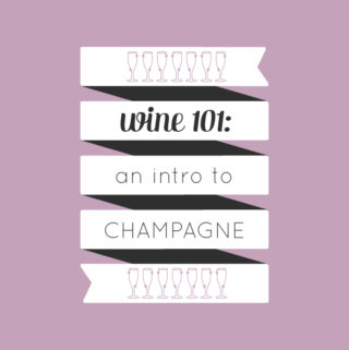 Wine 101: An introduction to drinking sparkling wine by wine expert Rachel Von Sturmer. // Feast + West