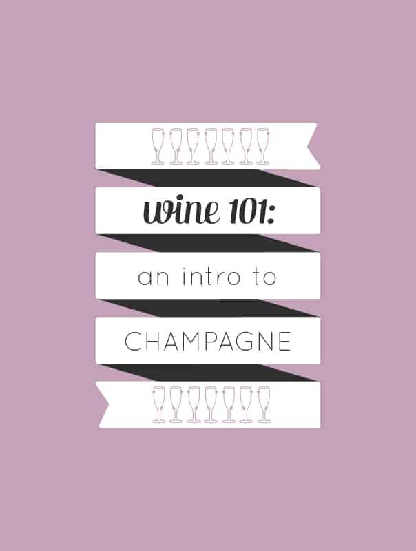 Wine 101: An introduction to drinking sparkling wine by wine expert Rachel Von Sturmer. // Feast + West
