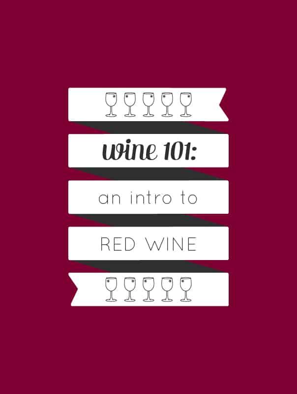 Wine 101: An introduction to drinking red wine by wine expert Rachel Von Sturmer. // Feast + West