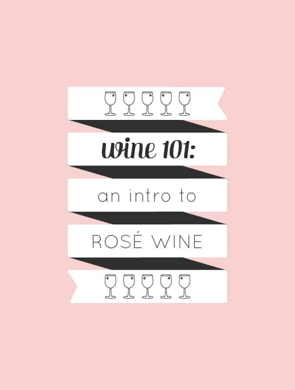 Wine 101: An introduction to drinking rosé wine by wine expert Rachel Von Sturmer. // Feast + West
