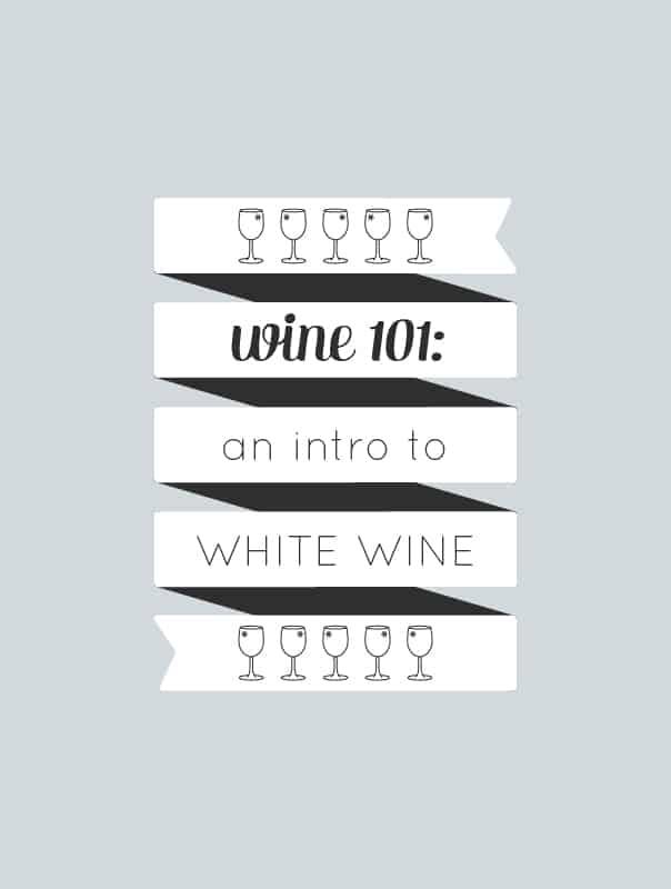 Wine 101: An introduction to drinking white wine by wine expert Rachel Von Sturmer. // Feast + West