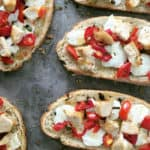 Open-Faced Margherita Sandwiches with @labreabakery // Feast + West