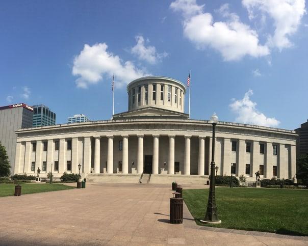 Columbus Statehouse | Hidden Gems: Columbus, Ohio Travel Guide // Feast + West