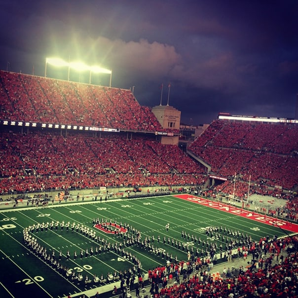 Ohio State Stadium | Hidden Gems: Columbus, Ohio Travel Guide // Feast + West