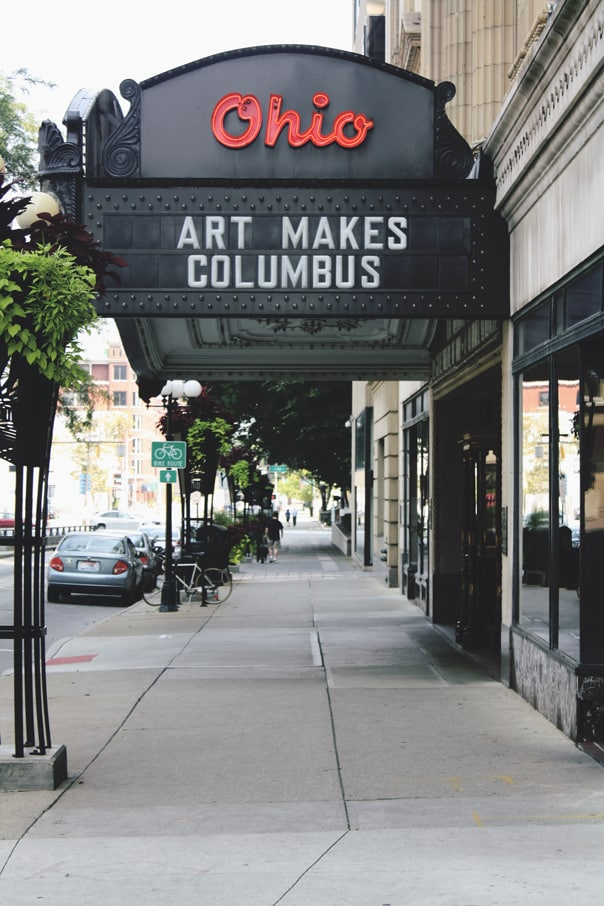 Ohio Theater | Hidden Gems: Columbus, Ohio Travel Guide // Feast + West