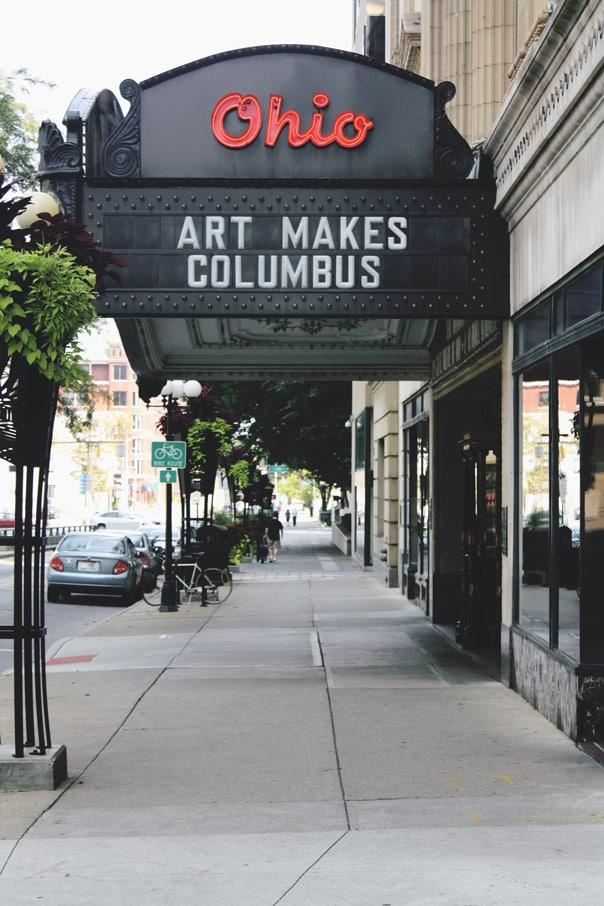 Ohio Theater | Hidden Gems: Columbus, Ohio Travel Guide // Feast + West
