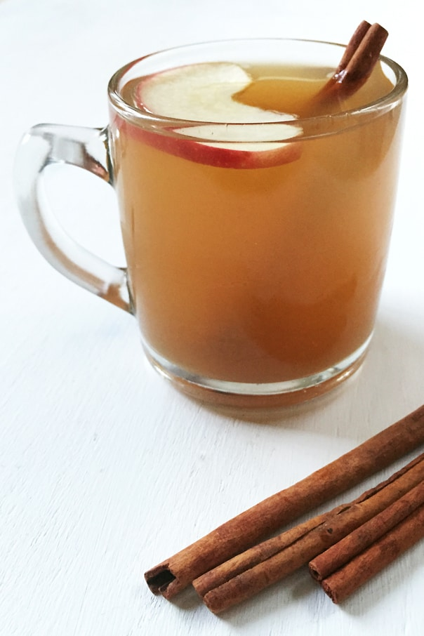 Stovetop Apple Cider, perfect and easy recipe for fall. // feastandwest.com